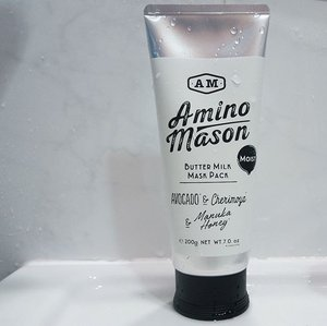 When it comes to #HaircareProduct, i still like and prefer #HaircareProducts from Japan. They seem to work better on Asian #Hair or at least on my own #HairSG.  The @AminoMasonSG Butter Milk Mask Pack combines 16 types of amino acids and keratin which is chemically bonded with platinum and has a rich Milk formula with plenty of proteins. Making use of nano technology and with a low molecular weight, it enables a deeper penetration, sealing in nutrients & moisture, hydrates, repairs and strengthens hair from inside out. The texture of the #AminoMason #HairMask is sooooo smooth, it's like whipped cream. I am a sucker for nice smelling #HaircareSG products, never knew the combination of Avocado, Cherimoya & Manuka Honey could smell so good! My hair feels light, soft and healthy after use. The #AminoMasonSG Butter Milk Mask Pack is available exclusively at selected @GuardianSG #GuardianSG outlets.  #Clozette #Beauty #GuardianBeauty #HairSingapore #Haircare #HaircareSingapore