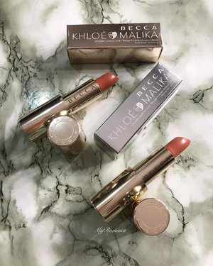 My only picks from @beccacosmetics x @khloekardashian & @malika #BECCABffs Both lipsticks feel delightfully creamy, moisturising and lightweight on my lips. • • • • What did you pick up from this collection? • • #MyRomana #clozette #sephoramy @sephoramy #beccaxkhloeandmalika #instablogger #discoverunder100k #makeupcollection #lipstick #khloekardashian #over50beauty #reallifemakeup #maturebeauty