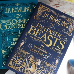 I have the best friends who'd always give me the best gifts. Thanks for making sure i get back into the habit of reading, not just listening to audiobooks. And reading it at my own time and pace because it is not a library book. #merrychristmas #jkrowling #fantasticbeasts #reading #clozettecosg #clozettedaily #clozette #clozetteco #bookstagram #bookslovers