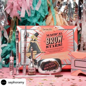 My favourite Benefit brow product is @benefitmalaysia Goof Proof Eyebrow in Shade 3. 😉 When I was first introduced by the National Brow Artist @browqueen_shanice last year during a makeup workshop, I fell in love with it. 🥰 I bought one immediately and never stop using since then. I think it's my 4th one right now. 😋  I love that it glides on smoothly and fills up the sparse area of my brow. 🙂  Did I mention that I do not have to sharpen the eyebrow pencil? It definitely make my makeup routine easier and faster. ❤️ @sephoramy #sephoramy #benefitmalaysia