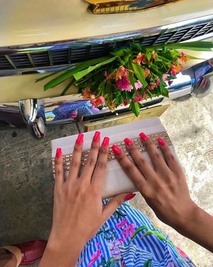 i miss these long pink nails.. 💕 #nailsgoals #clozette