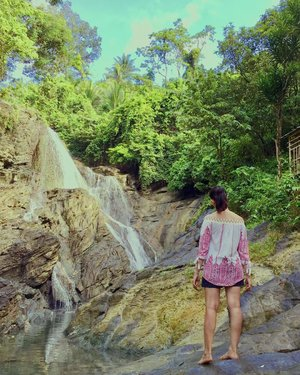 Chasing Waterfalls✨✨✨ • • • • • • • #inHim #blessed #seaph #beachph #letsgo #camsur #discoverph #destinationearth #bicol #bicolbest #whynot #yey🎉 #happyfey #feyventures #pinoytravel #travelphotography #wanderlust #happy #bestplans #yass #ff #clozette #vsco #vscoph #travel #feytravels #travelph #discoverygreen