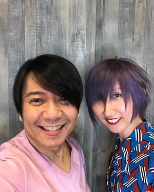 So so happy with my cut and color. Thank you, Mr. Alex Carbonell! @studiofixbyalexcarbonell #hotd #style #hair #color #clozette #studiofixbyalexcarbonell #alexcarbonell #latergram